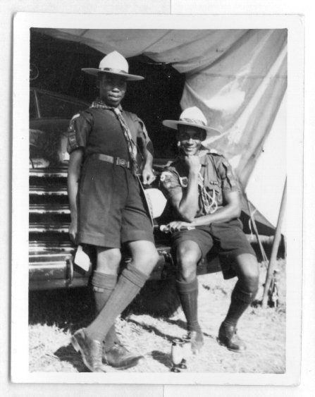 African Scouts at the Jamboree