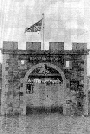 The gate of Hudson Bay sub-camp
