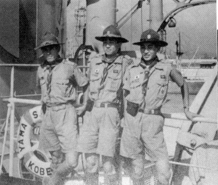 Three Japanese Scouts on the Kohka Maru