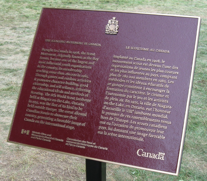 National Historic Event Plaque